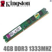 MEMORIA 4GB DDR3 1333 KINGSTON
