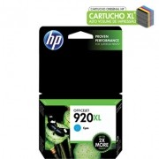 CARTUCHO HP Nº 920XL CIAN (CD972AL)