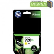 CARTUCHO HP Nº 920XL AMARELO (CD974AL)