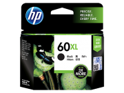 CARTUCHO TINTA HP 60XL PRETO - CC641WB