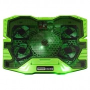COOLER GAMER VERDE COM LED WARRIOr ac292 multilaser