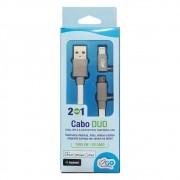 CABO DUO PARA APPLE E MICRO USB I2GO