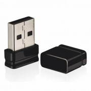 PENDRIVE 16GB NANO USB 2.0 PRETO PD054 MULTILASER