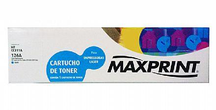 TONER COMP. HP CE311A CIANO (126A) MAXPRINT