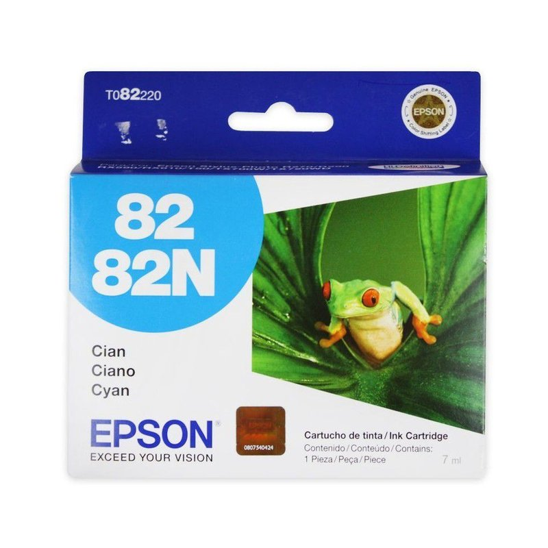 CARTUCHO CYAN TO8220 R270 82/82N EPSON