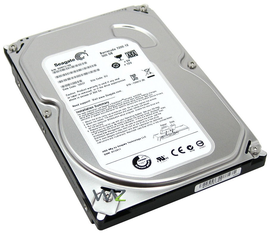 HD 500GB SATA III SEAGATE