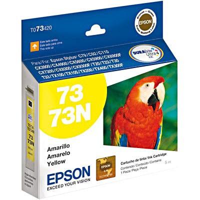CARTUCHO EPSON AMARELO T073420 (73)