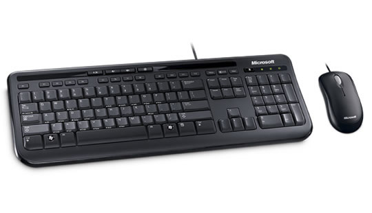 KIT TECLADO E MOUSE 600 USB MICROSOFT