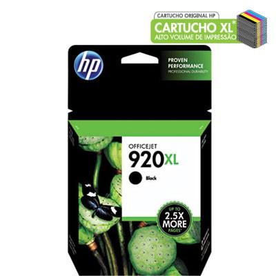 CARTUCHO HP PRETO 920XL (CD975AL)