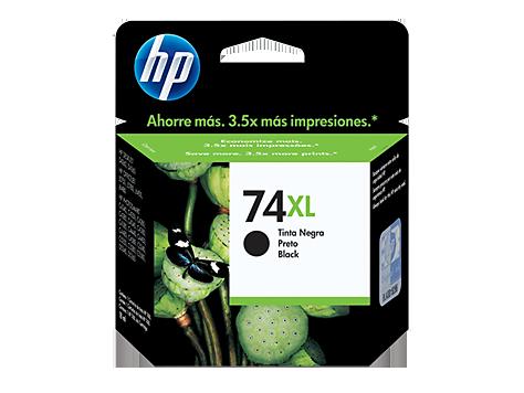 CARTUCHO HP Nº 74XL PRETO (CB336WB)