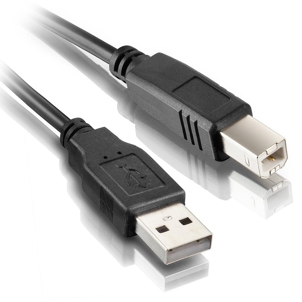 CABO USB A/B 1,80M 2.0 PRETO (IMPRESSORA)