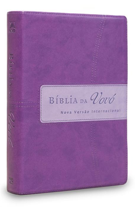 Bíblia da Vovó (Lilás / Roxa) - Doris Rikkers Jeannette Taylor - PROMESSAS PRECIOSAS