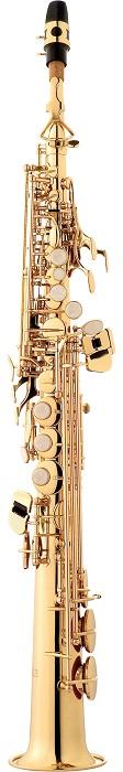 Sax Soprano Eagle em Sib Laqueado SP 502 L - Musical Perin