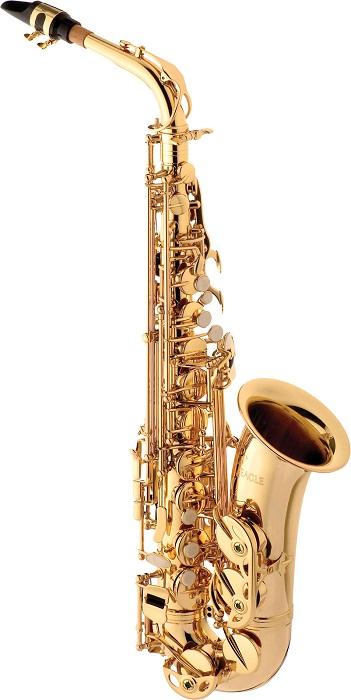 Sax Alto Eagle Laqueado Mib - Musical Perin