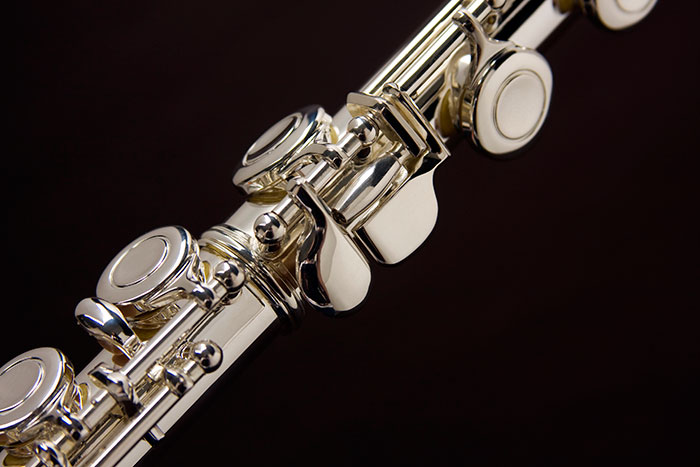 Flauta Transversal Eagle Prateada - Musical Perin