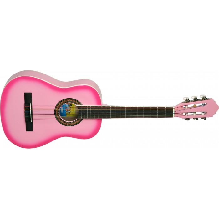 Violão Shelby Infantil 34´ com capa - SNK66 Rosa - Musical Perin