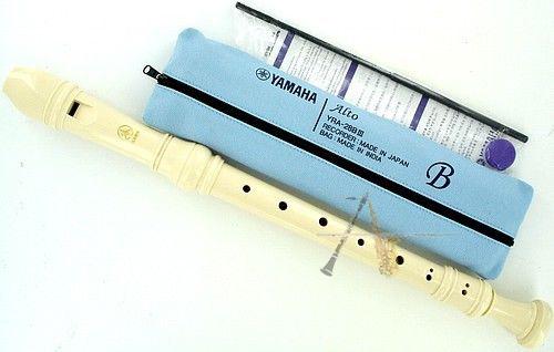 Flauta Doce Yamaha Contralto Barroca YRA 28 BIII - Musical Perin