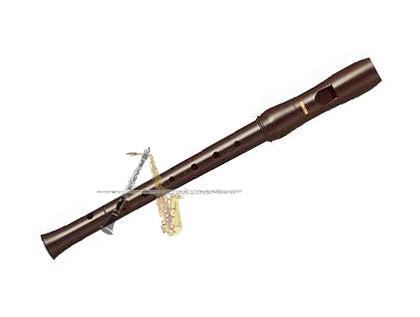 Flauta Doce Yamaha Sopranino Barroca YRN 22B - Musical Perin