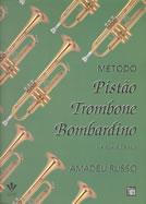 Método Amadeu Russo para Pistão - Trombone - Bombardino - Musical Perin