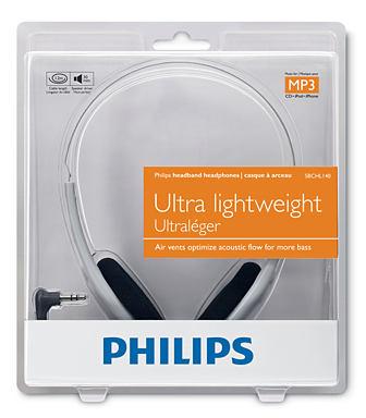 Fone de Ouvido Philips SBC HL 140 - Musical Perin