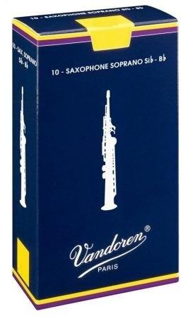 Palheta Vandoren Tradicional Sax Soprano (Unitário) - Musical Perin