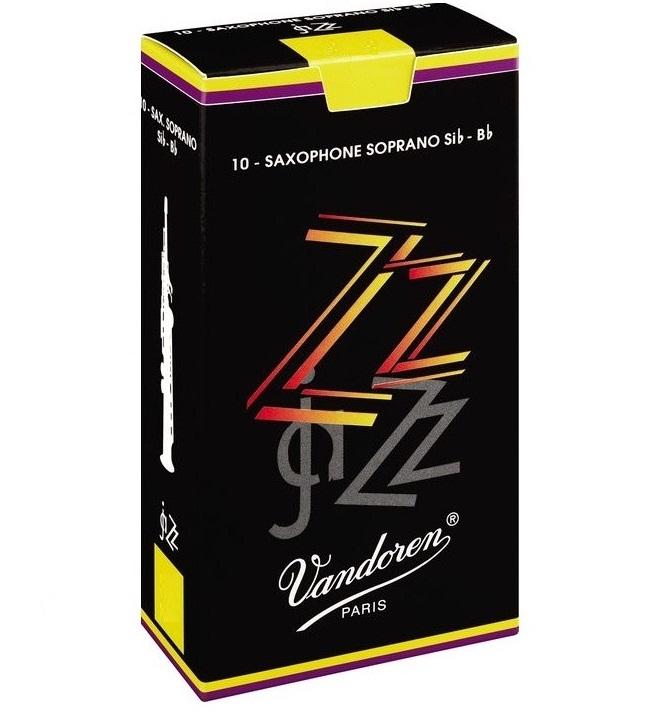 Palheta Vandoren Jazz Sax Soprano (Unitário) - Musical Perin
