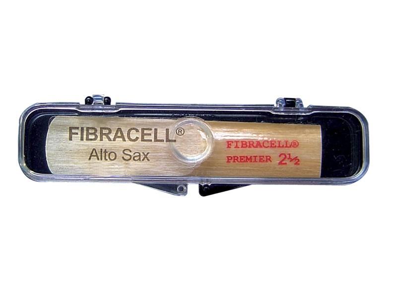 Palheta Fibracell Premier Sax Alto - Musical Perin