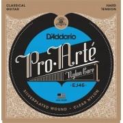 Encordoamento D'addario Pro Arté Nylon EJ46 Nylon  Core - Musical Perin