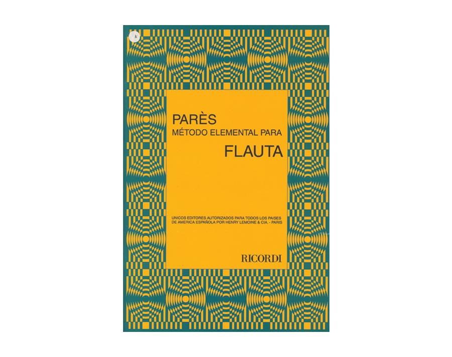 Método Parés Flauta - Musical Perin
