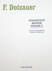 Método F. Dotzauer Violoncelo Vol. 2 - Musical Perin