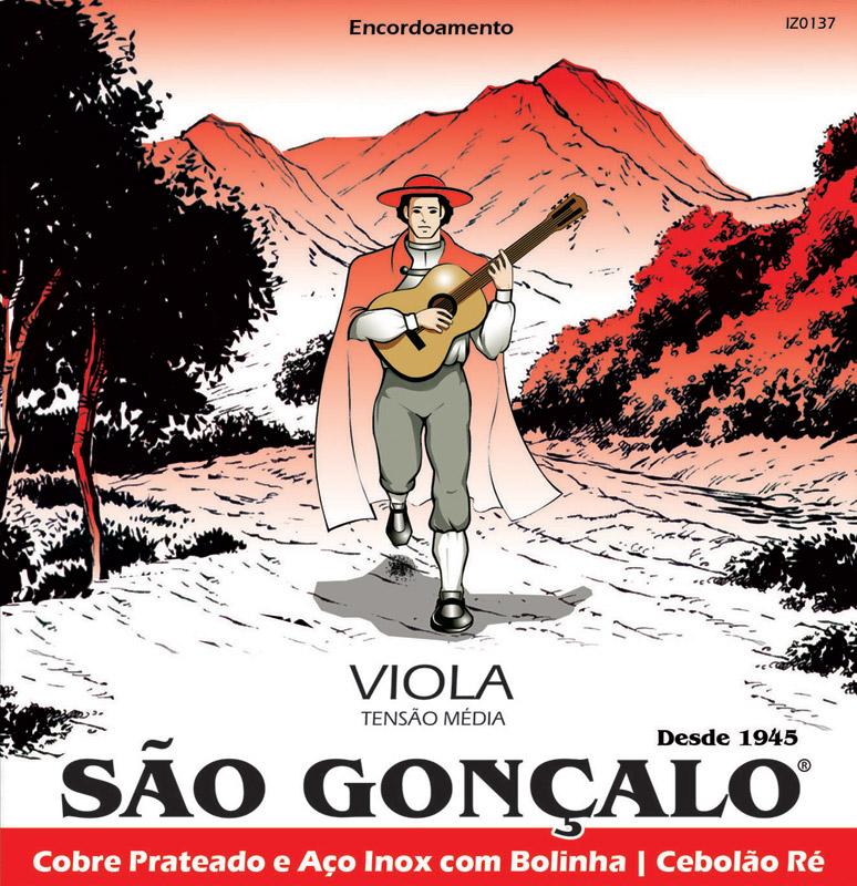 Encordoamento São Gonçalo Viola Caipira - Musical Perin