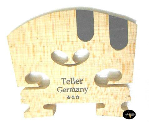 Cavalete Violino Teller 2 Dentes de Ébano 4/4 3* - Musical Perin