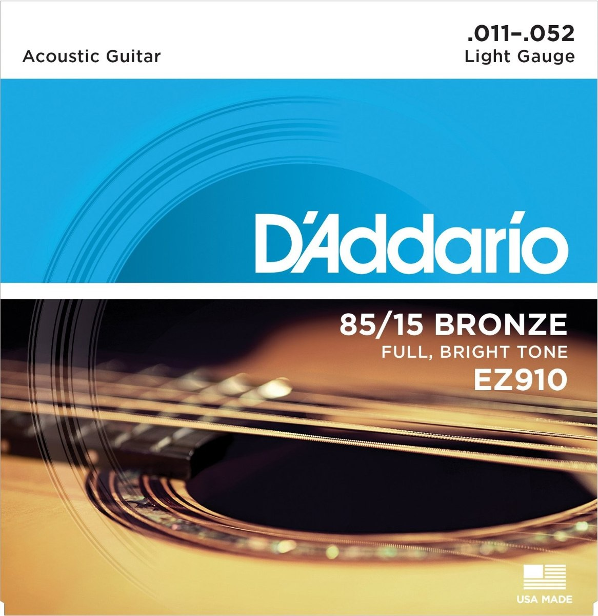 Encordoamento Daddario EZ910-B Violão - Musical Perin