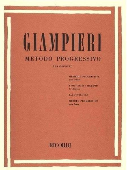 Método Giampieri para Fagote - Musical Perin