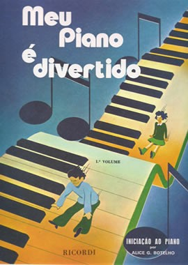 Método Meu Piano é Divertido Vol. 1 - Musical Perin