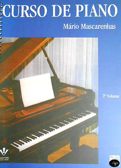 Método Curso de Piano Vol. 2 - Musical Perin