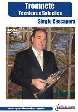 DVD Trompete Sérgio Cascapera - Musical Perin