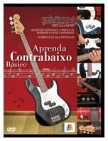 DVD Aprenda Contrabaixo Básico - Musical Perin