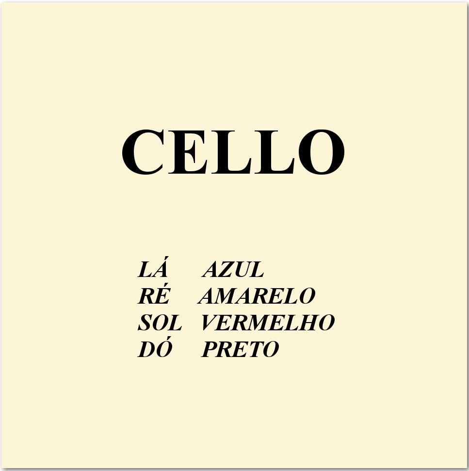 Encordoamento Mauro Calixto Violoncelo - Musical Perin