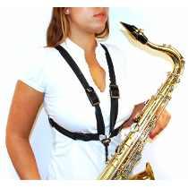 Correia Barkley Suspensório Para Sax Tenor/Sax Baritono - Musical Perin