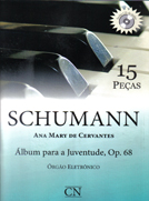 Método Schumann Órgão Eletrônico - 15 Peças Op.68 C/CD - Musical Perin