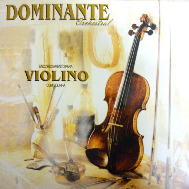 Encordoamento Dominante Violino - Musical Perin