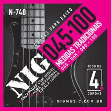 Encordoamento NIG N-740 Baixo - Musical Perin