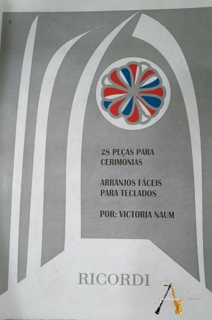 Método 28 Peças para Cerimonias - Teclado - Musical Perin