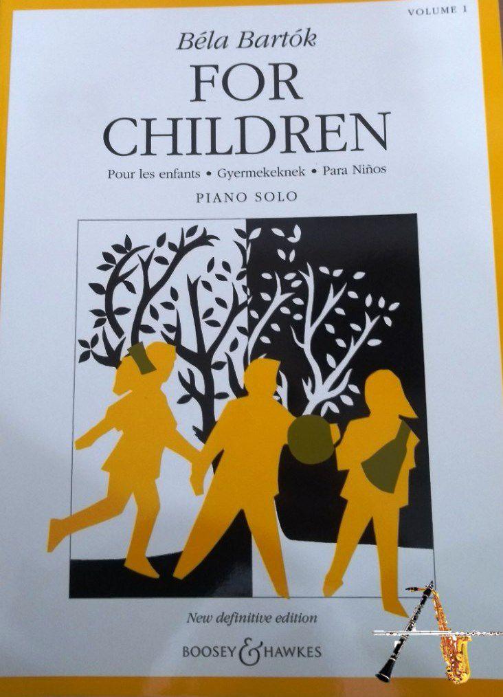 Método Bela Bartok For Children Vol 1 - Musical Perin