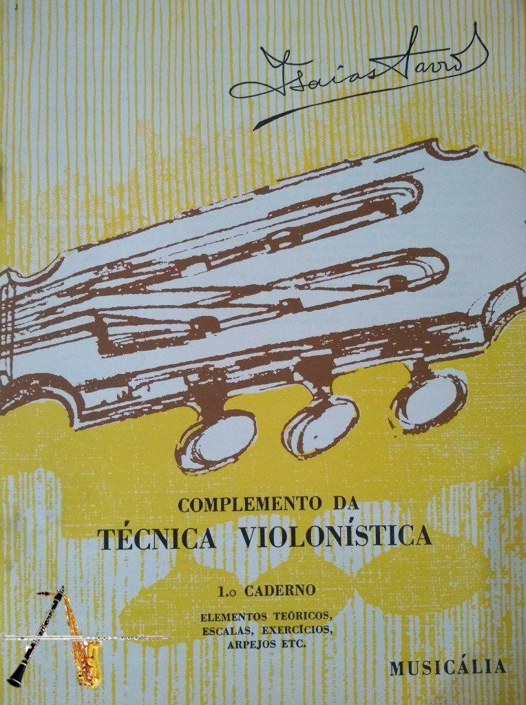 Método Complemento da Técnica Violonística - Isaías Savio - Musical Perin