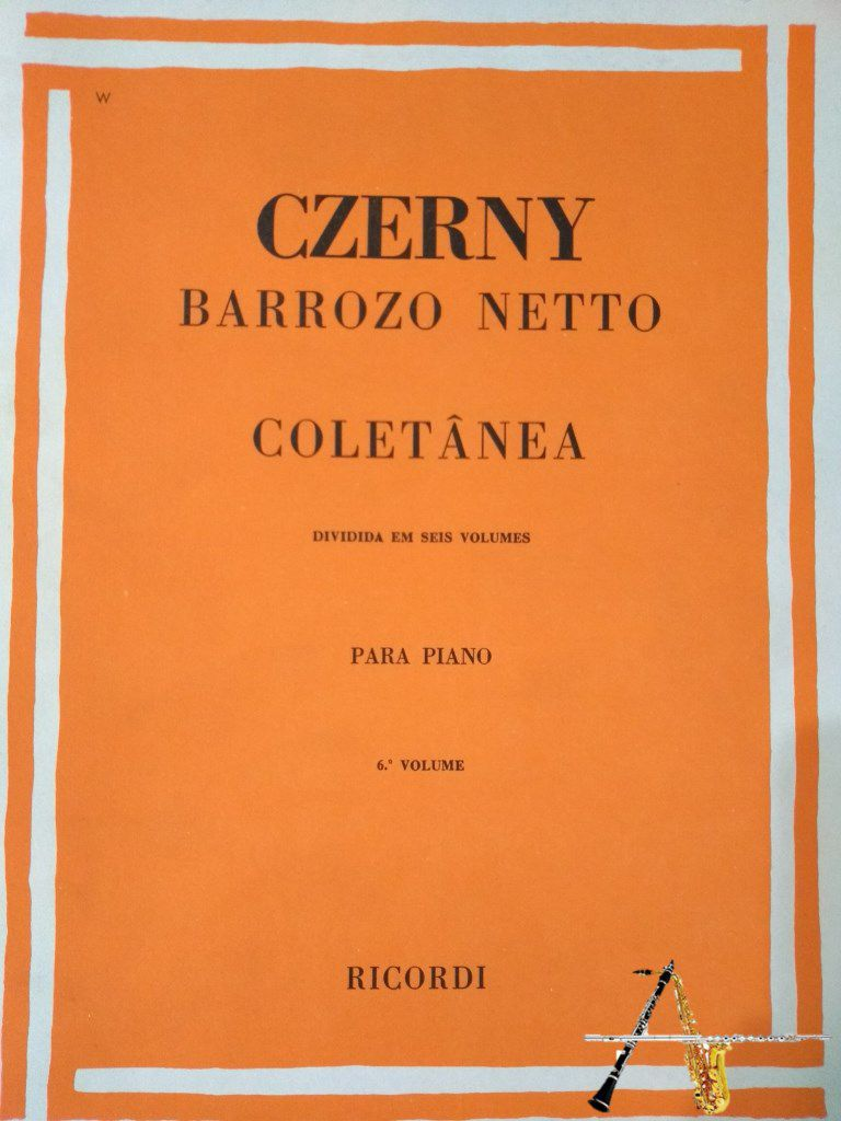 Método Czerny Barroso Neto Vol. 6 - Musical Perin