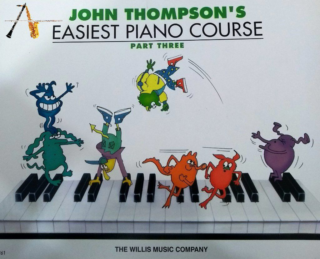 Método Easiest Piano Course - John Thompson's - Part Three - Musical Perin