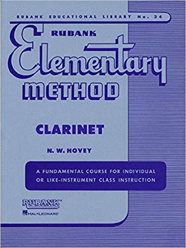 Método Elementary Method Clarinet Rubank - Musical Perin