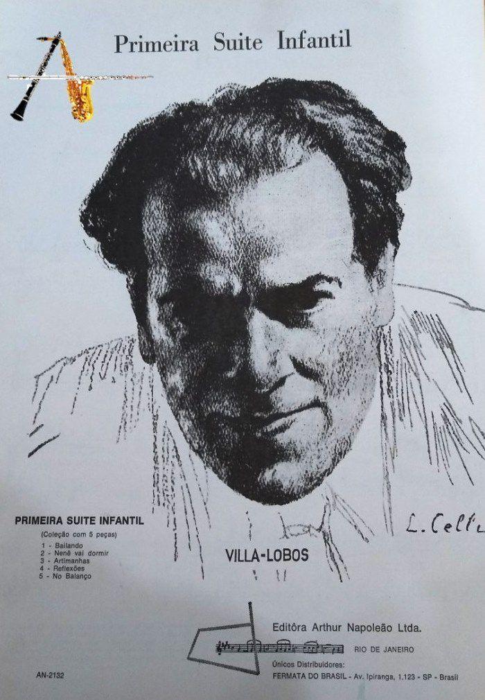 Método Primeira Suíte Infantil - Villa Lobos - Musical Perin
